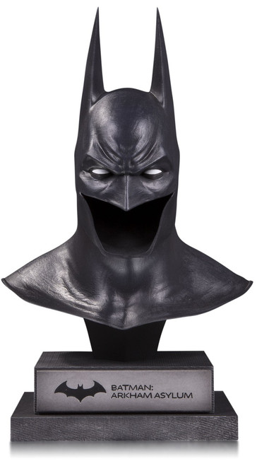Arkham Asylum DC Gallery Batman Cowl Prop Replica [Arkham Asylum]