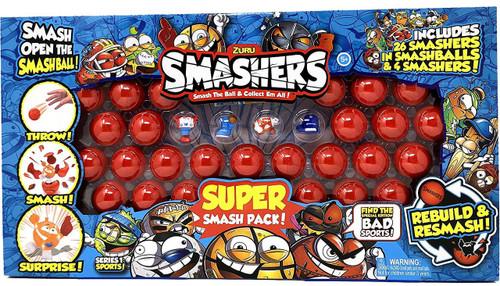 Smashers Series 1 Super Smash Pack Exclusive 30-Piece Set [26 Smashers in Smashballs & 4 Smashers!]