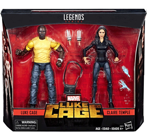 Marvel Legends Luke Cage & Claire Temple Action Figure 2-Pack