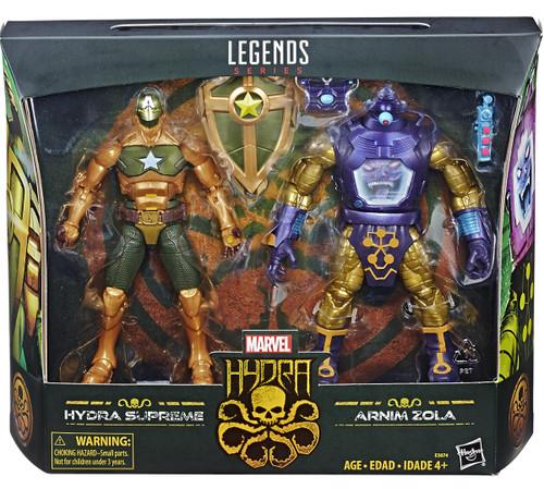 Marvel Legends Hydra Supreme & Arnim Zola Action Figure 2-Pack