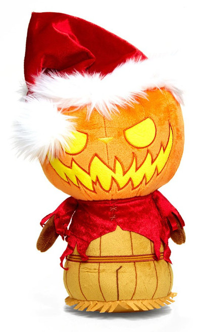 Funko Nightmare Before Christmas SuperCute Pumpkin King Santa Exclusive 12-Inch Jumbo Plush