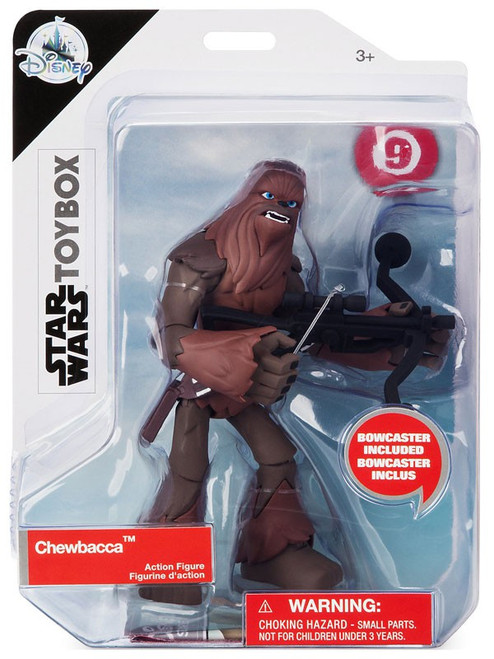 Disney Star Wars Toybox Chewbacca Exclusive Action Figure