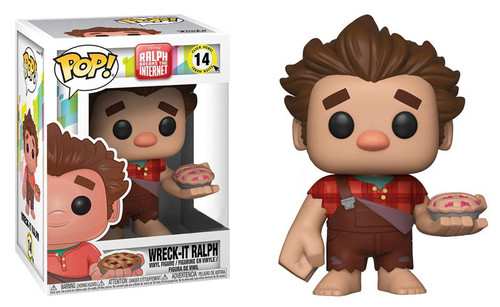 Funko Wreck-It Ralph 2: Ralph Breaks the Internet POP! Disney Wreck-It Ralph Exclusive Vinyl Figure #14 [Holding Pie]