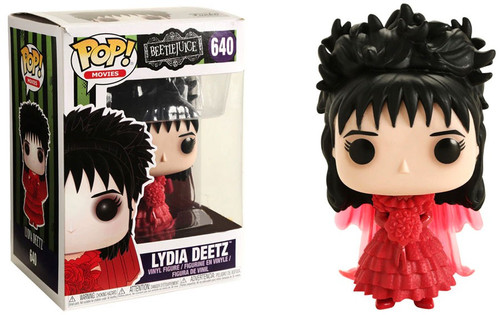 Funko Beetlejuice POP! Movies Lydia Deetz Exclusive Vinyl Figure #640 [Wedding]
