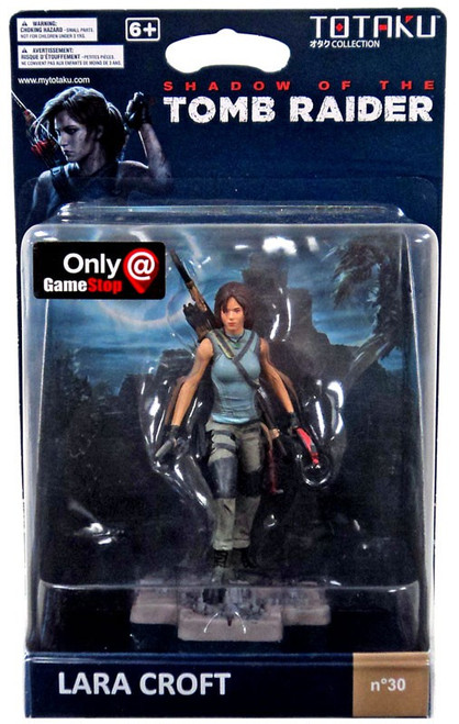 Shadow of the Tomb Raider TOTAKU Collection Lara Croft Exclusive Vinyl Figure