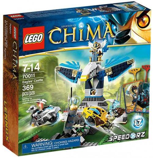 LEGO Legends of Chima Eagle's Castle Set #70011 [Damaged Package]