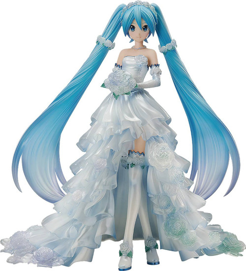 Vocaloid Vocal Series Hatsune Miku Collectible PVC Figure [Wedding Version]