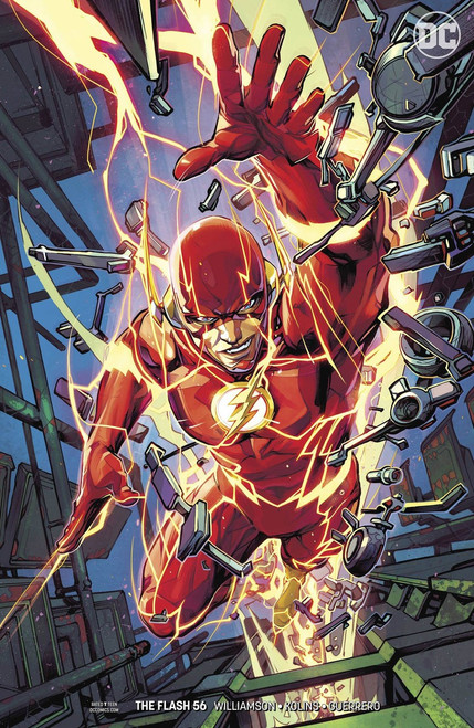 DC The Flash #56 Comic Book [Porter Variant Cover]