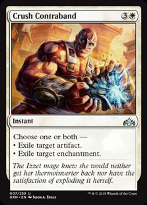 MtG Guilds of Ravnica Uncommon Crush Contraband #7