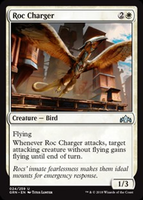 MtG Guilds of Ravnica Uncommon Roc Charger #24