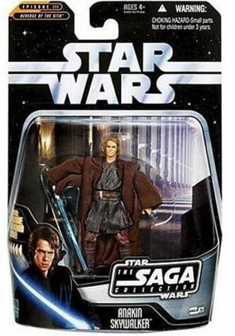 Star Wars Revenge of the Sith 2006 Saga Collection Anakin Skywalker Action Figure #25