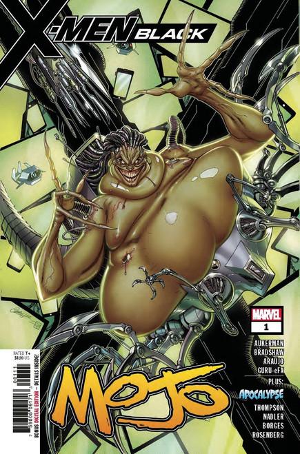 Marvel Comics X-Men Black #1 Mojo Comic Book