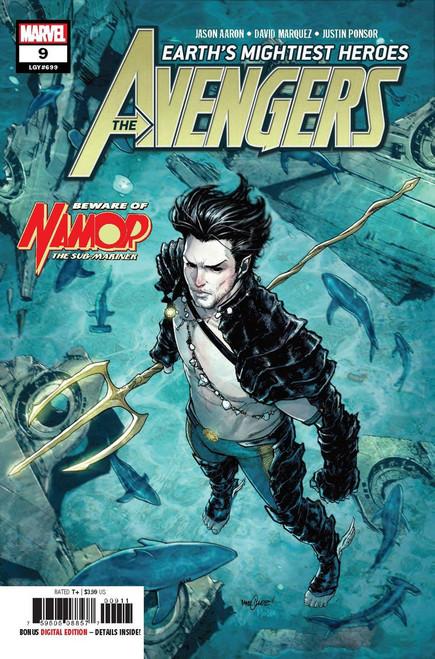 Marvel Comics Avengers #9 Comic Book