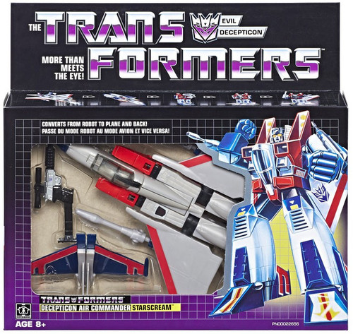 Transformers Gen 1 2018 Reissue Starscream Exclusive Action Figure [Decepticon Air Commander]