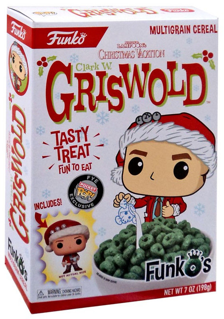 FunkO's National Lampoon's Christmas Vacation Clark W. Griswold Exclusive Breakfast Cereal