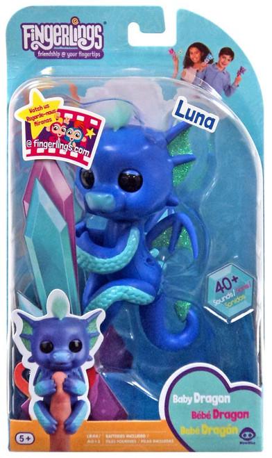 Fingerlings Baby Dragon Luna Exclusive Figure [Purple]