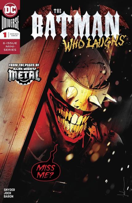 DC The Batman Who Laughs #1 Comic Book