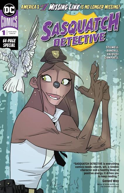 DC Sasquatch Detective #1 Comic Book