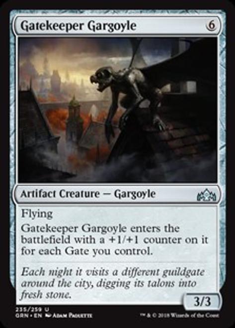 MtG Guilds of Ravnica Uncommon Gatekeeper Gargoyle #235
