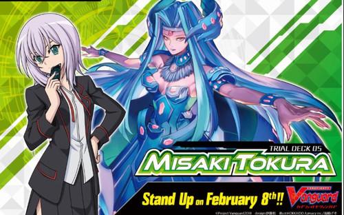 Cardfight Vanguard Trading Card Game Misaki Tokura Trial Deck VGE-V-TD05