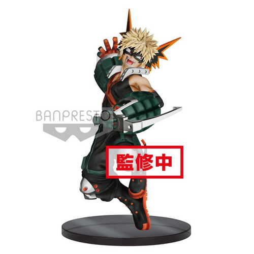 My Hero Academia The Amazing Heroes Katsuki Bakugo 6.3-Inch Collectible PVC Figure #03