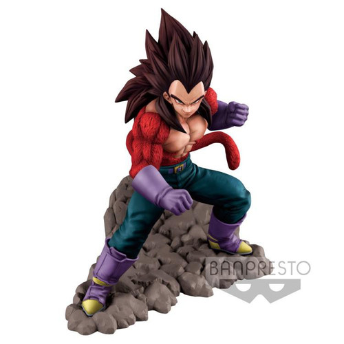 Dragon Ball GT Super Saiyan 4 Vegeta 6.3-Inch Collectible PVC Figure
