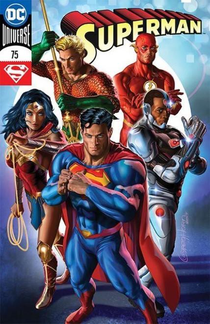 DC Vol. 2 Superman #75 Comic Book [Ace Comic Con 2017 Exclusive Variant Cover]