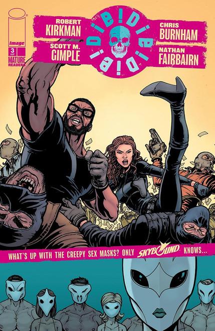 Image Comics Die Die Die #3 Comic Book