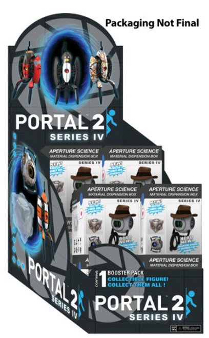 NECA Portal 2 Sentry Turret Series 4 Mystery Box [12 Packs]
