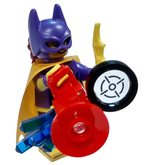 DC LEGO Batman Movie Batgirl Minifigure [wtih Phantom Zone Remote Loose]