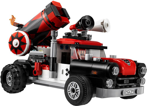 DC LEGO Batman Movie Harley Quinn's Truck [No Minifigures Loose]