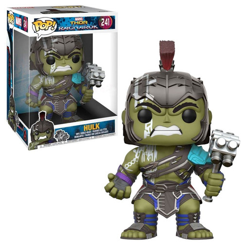 Funko Thor: Ragnarok POP! Marvel Hulk Exclusive 10-Inch Vinyl Bobble Head #241 [Super-Sized, Damaged Package]
