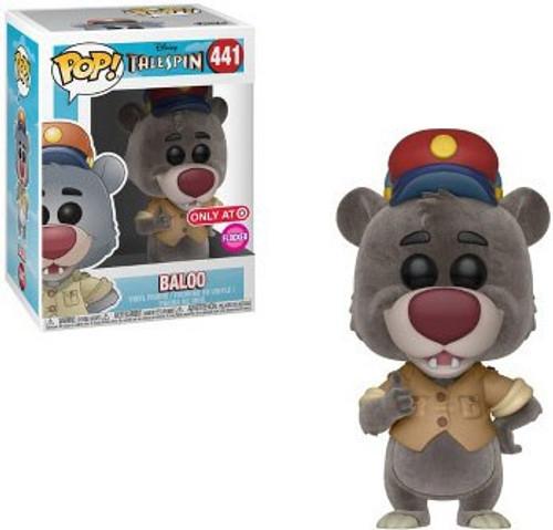 Funko TaleSpin POP! Disney Baloo Exclusive Vinyl Figure #441 [Flocked]