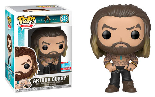 Funko DC Aquaman Movie POP! Heroes Arthur Curry Exclusive Vinyl Figure #243