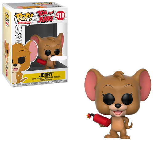 Funko Tom and Jerry POP! Animation Jerry Exclusive Vinyl Figure #410 [with Explosives]