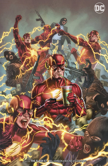 DC The Flash #57 Comic Book [Porter Variant Cover]