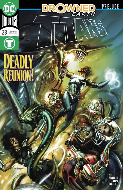 DC Titans #28 Comic Book