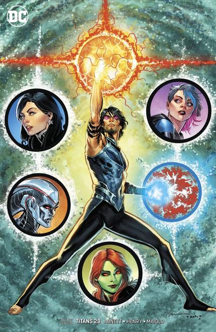 DC Titans #28 Comic Book [Jimenez Variant Cover]