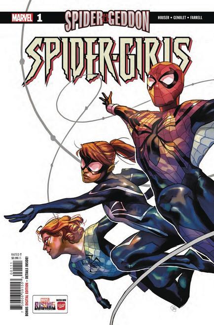 Marvel Comics Spider-Girls #1 Comic Book