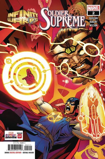 Marvel Comics Infinity Wars Soldier Supreme #2 of 2 Comic Book