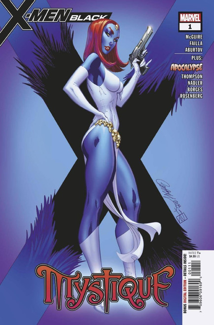 Marvel Comics X-Men Black #1 Mystique Comic Book
