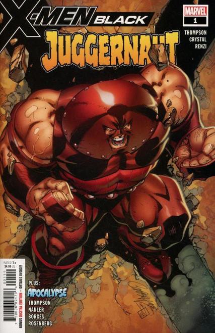 Marvel X-Men Black #1 Juggernaut Comic Book