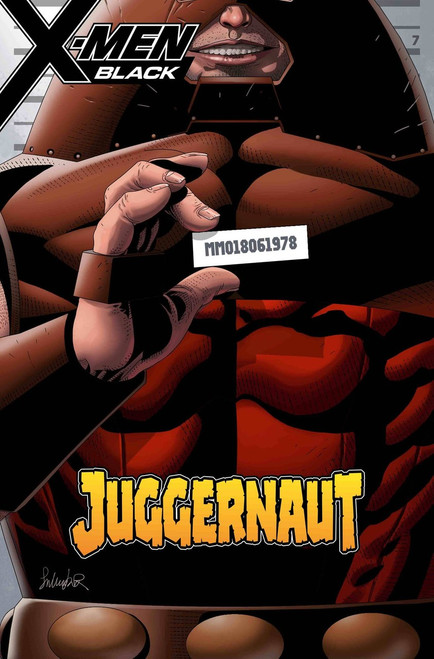 Marvel Comics X-Men Black #1 Juggernaut Comic Book [Larroca Mugshot Variant Cover]