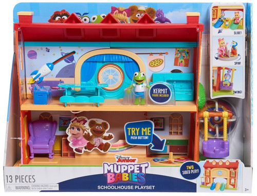 Disney Junior Muppet Babies Schoolhouse Exclusive Playset