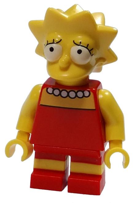 LEGO The Simpsons Lisa Simpson with Worried look Minifigure [Loose]