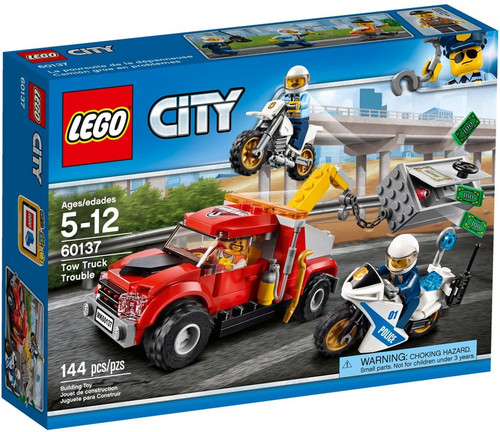 LEGO City Tow Truck Trouble Set #60137