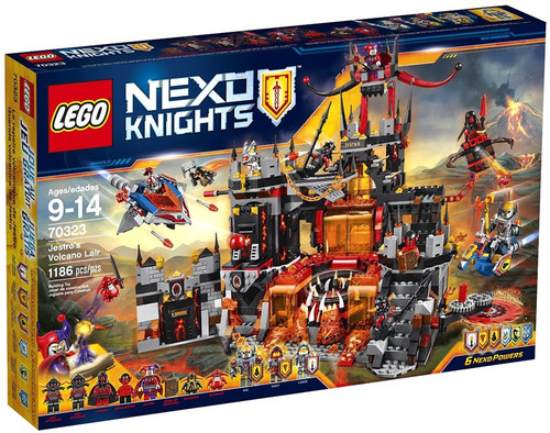 LEGO Nexo Knights Jestro's Volcano Lair Set #70323 [Damaged Package]