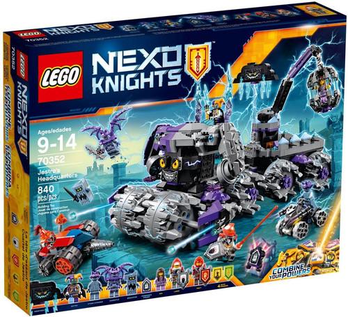 LEGO Nexo Knights Jestro's Headquarters Set #70352