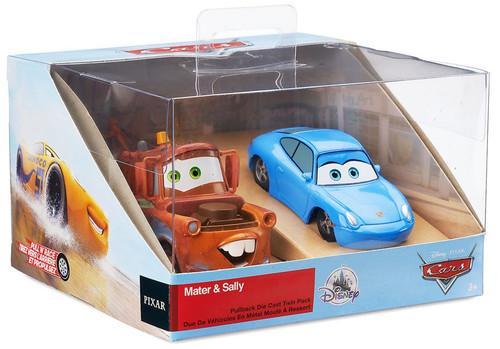Disney / Pixar Cars Cars 3 Pull 'N' Race Mater & Sally Exclusive Diecast Car 2-Pack