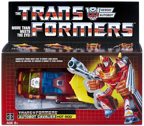 Transformers Gen 1 2018 Reissue Hot Rod Exclusive Action Figure [Autobot Cavalier]